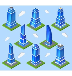 Office industry planning element vector