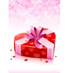 Valentine's card vector