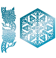 Islamic design element vector