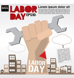 Labor day conceptual eps10 vector