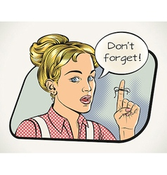 Housewifes reminder vector