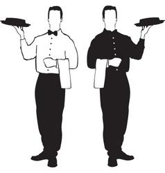 Waiter design vector