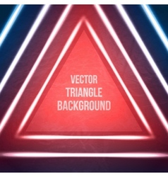Geometric background hipster theme retro triangle vector