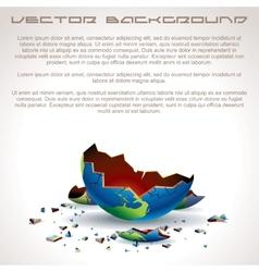 Apocalyptic background vector