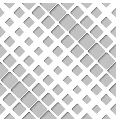 Abstract diagonal paper lattice seamless pattern vector