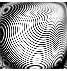Design monochrome vortex movement background vector