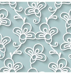 Paper lace texture vector