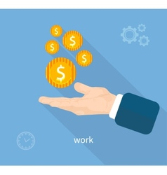 Payment of work vector