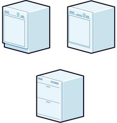 Dishwashers vector