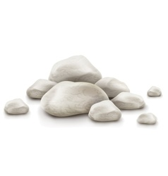 Pile of stones vector