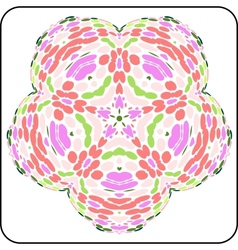 Symmetry colorful pattern vector