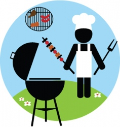 Barbecue vector