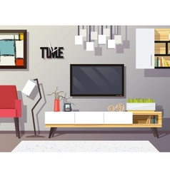 Living room concept vector