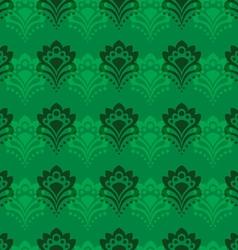 Background - emerald flowers vector
