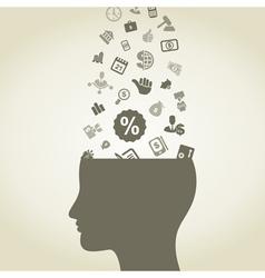 Idea business vector