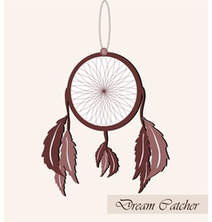 Lucky dream catcher vector