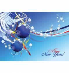 New year celebration background vector