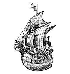 Galleon vector