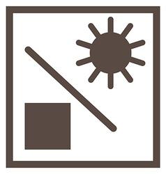 Shipping symbol vector