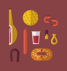 Spanish food vector