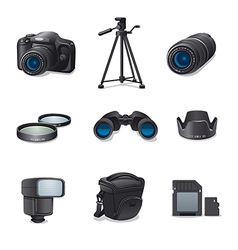 Photo accessories vector