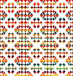 Sunny geometric seamless pattern vector