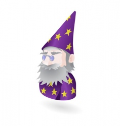 Wizard illustration vector
