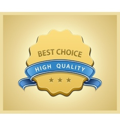 Best choice seal vector