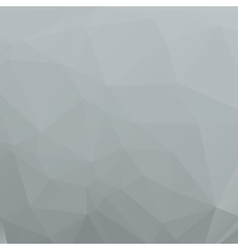 Polygon abstract gray background for your design vector