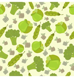 Eco bio broccoli vector