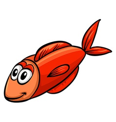 One red fish vector