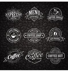 Coffee shop emblems 3 vector