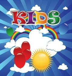 Kids 4 vector