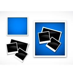 Photos frames vector