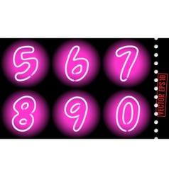 Neon numbers vector