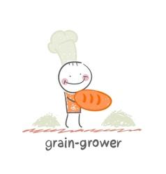 Grain grower vector