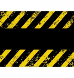 Diagonal hazard stripes texture vector