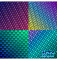 Neon backgrounds vector