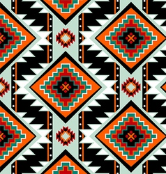 First nations seamless pattern vector