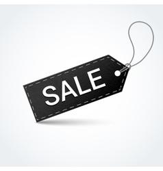 Sale black label vector