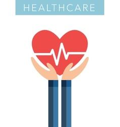 Healthcare flat symbol vector