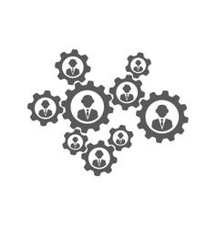 Teamwork concept vector