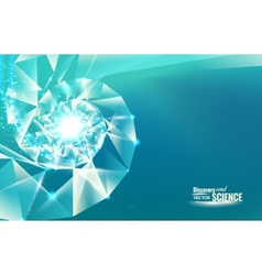 Abstract science design vector