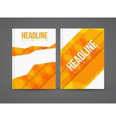 Design brochure template vector