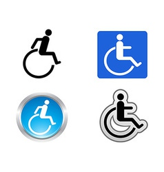 Disability symbol vector