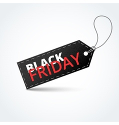Black textured badge about black friday sale vector