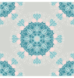 Seamless pattern with abstract elements vector