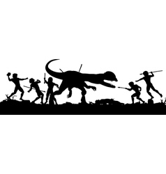 Prehistoric hunt vector