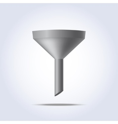 Funnel icon vector