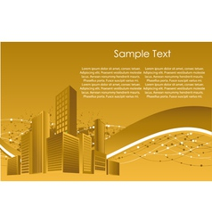 City building structure vector